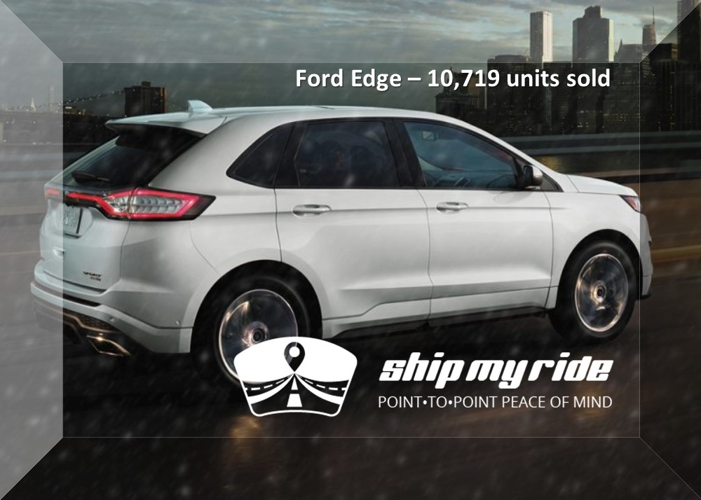 Ford Edge Car Shipping - Best selling car