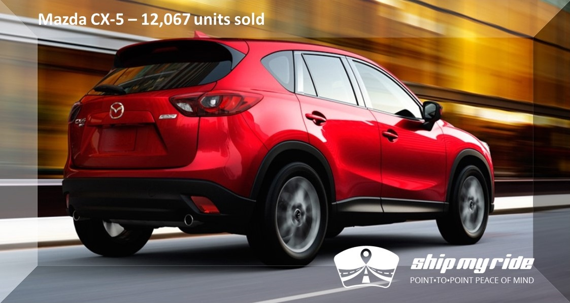 Mazda CX5 Car Shipping - Best selling car